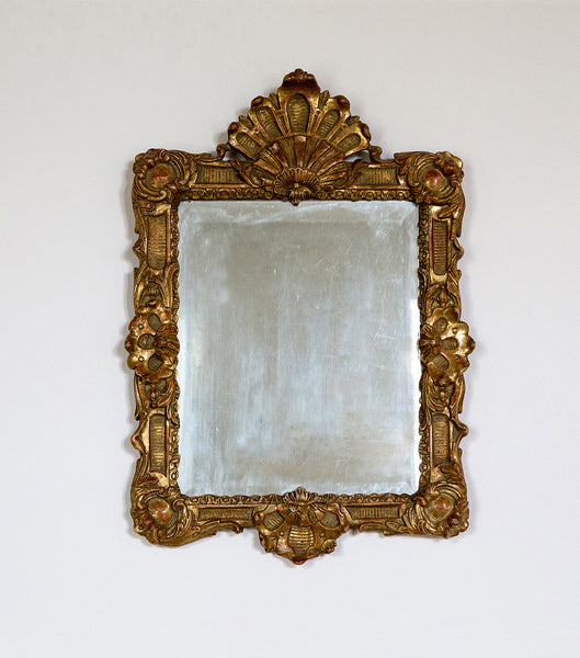 Swedish Gilt Mirror