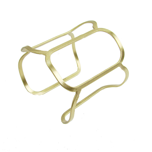 Honeycomb Cuff - gold - WorldFinds