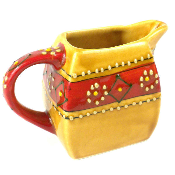 Hand-painted Mini Creamer in Honey - Encantada
