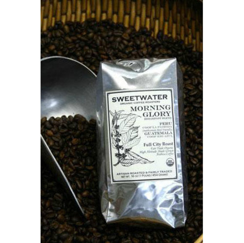 Morning Glory Organic Coffee 12oz Beans - Sweetwater Coffee