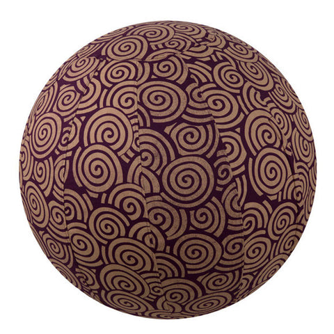 Yoga Ball Cover Size 55 Design Plum Swirl - Global Groove (Y)