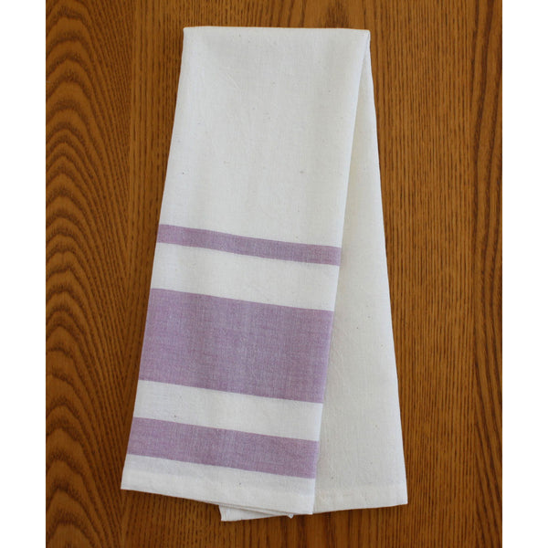 Lavender Cotton Tea Towels Set of 2 - Sustainable Threads (L)
