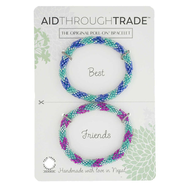 Roll-On Friendship Bracelets - Seamist - Aid Through Trade