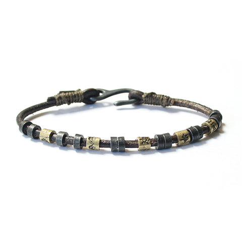 Wakami Dream Mens Bracelet-blk