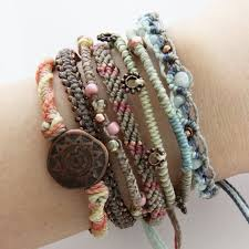Wakami Womens Earth Bracelet Day Set/7
