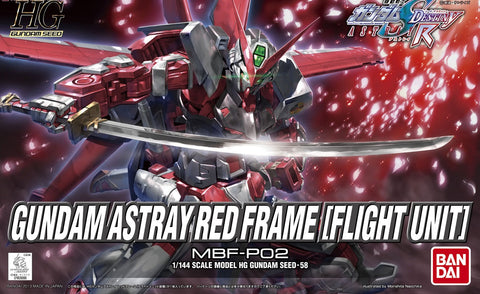 1/144 Gundam Astray Red Frame (Flight Unit) (HG)
