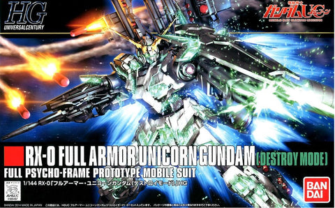 1/144 Full Armor Unicorn Gundam (Destroy Mode) (HGUC)