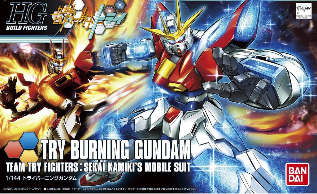 1/144 Try Burning Gundam (HGBF)