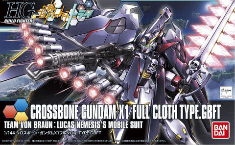 1/144 Crossbone Gundam X1 Full Cloth TYPE.GBFT (HGBF)