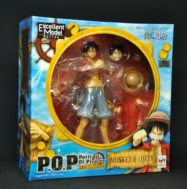 Portrait.Of.Pirates (POP) Luffy Sailing Again