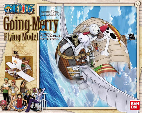 Going Merry Flying Mode Model Kit