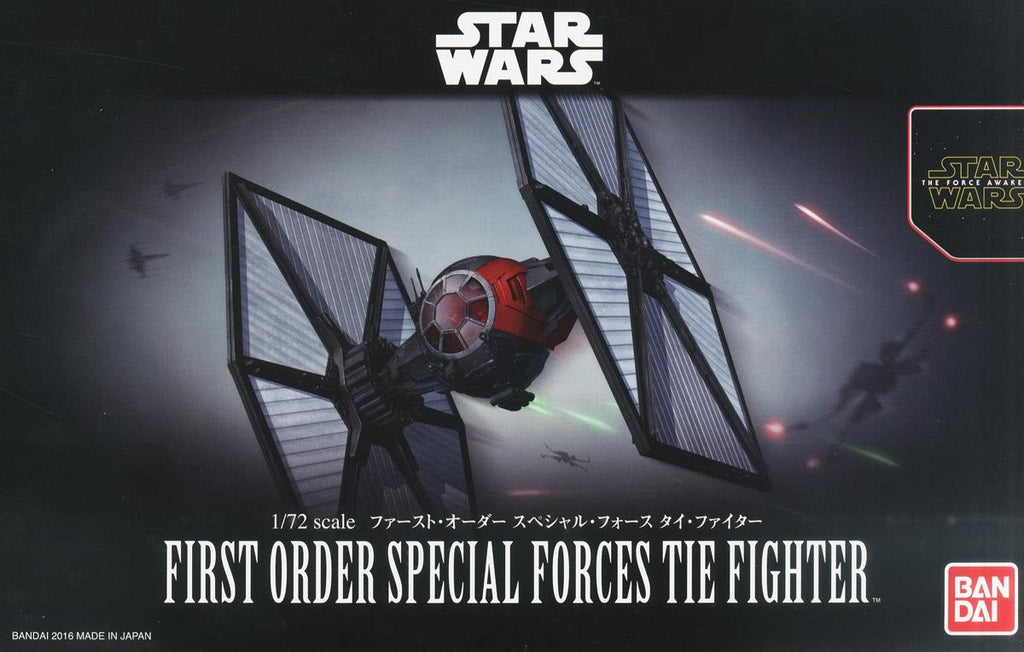 1/72 First Order Special Force Tie Fighter (Bandai Ver)