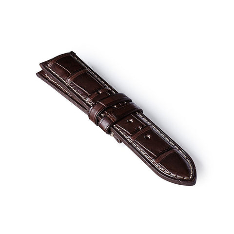 Alligator Strap - Brown: £258.00