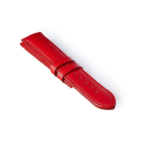 Leather Strap - Red/Red: £131.00