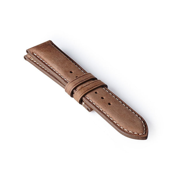 Nubuck Strap - Light Brown/White: £131.00