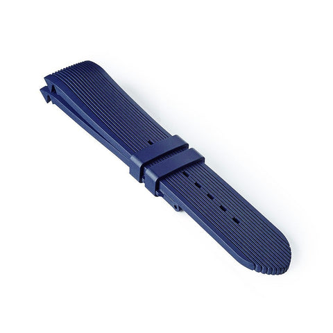 Integrated Rubber Strap - Blue