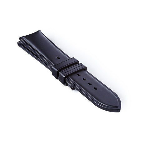 Temple Island Rubber Strap - Black