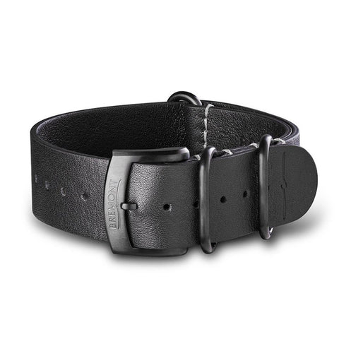 NATO Strap - Hambleden Leather - Black DLC: £131.00