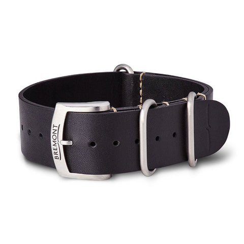 NATO Strap - Hambleden Leather - Black: £131.00