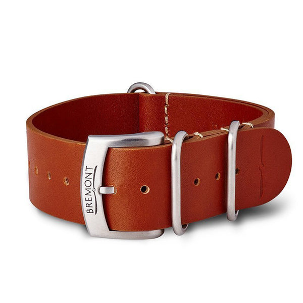 NATO Strap - Hambleden Leather - Brown: £131.00