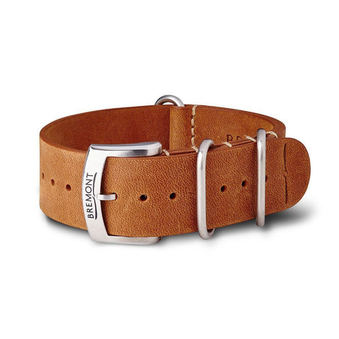 NATO Strap - Hambleden Leather - Vintage Brown: £131.00