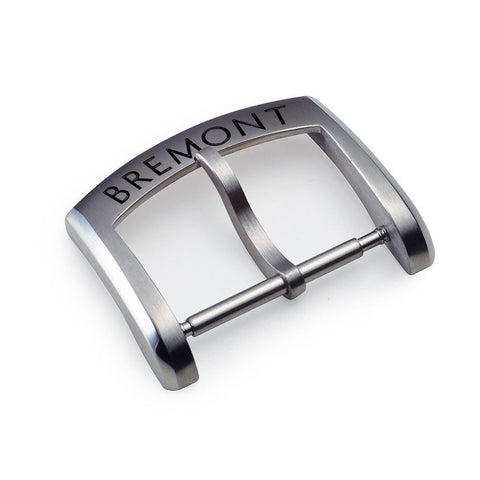 Pin Buckle - 18mm Brushed Stainless Steel: £60.00