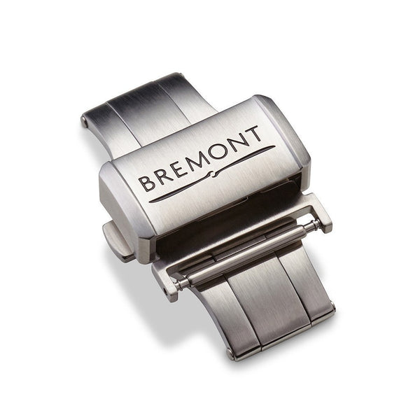 Deployment Clasp - Brushed Stainless Steel: £138.00