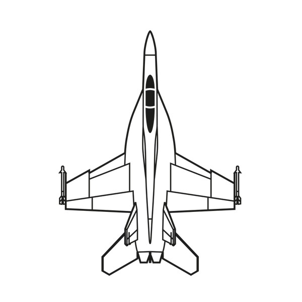 F/A-18F Super Hornet Deposit - Military Access Only