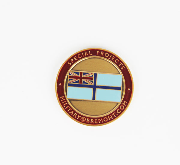 Bremont Military Challenge Coin