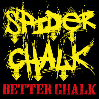 Spider Chalk Stickers