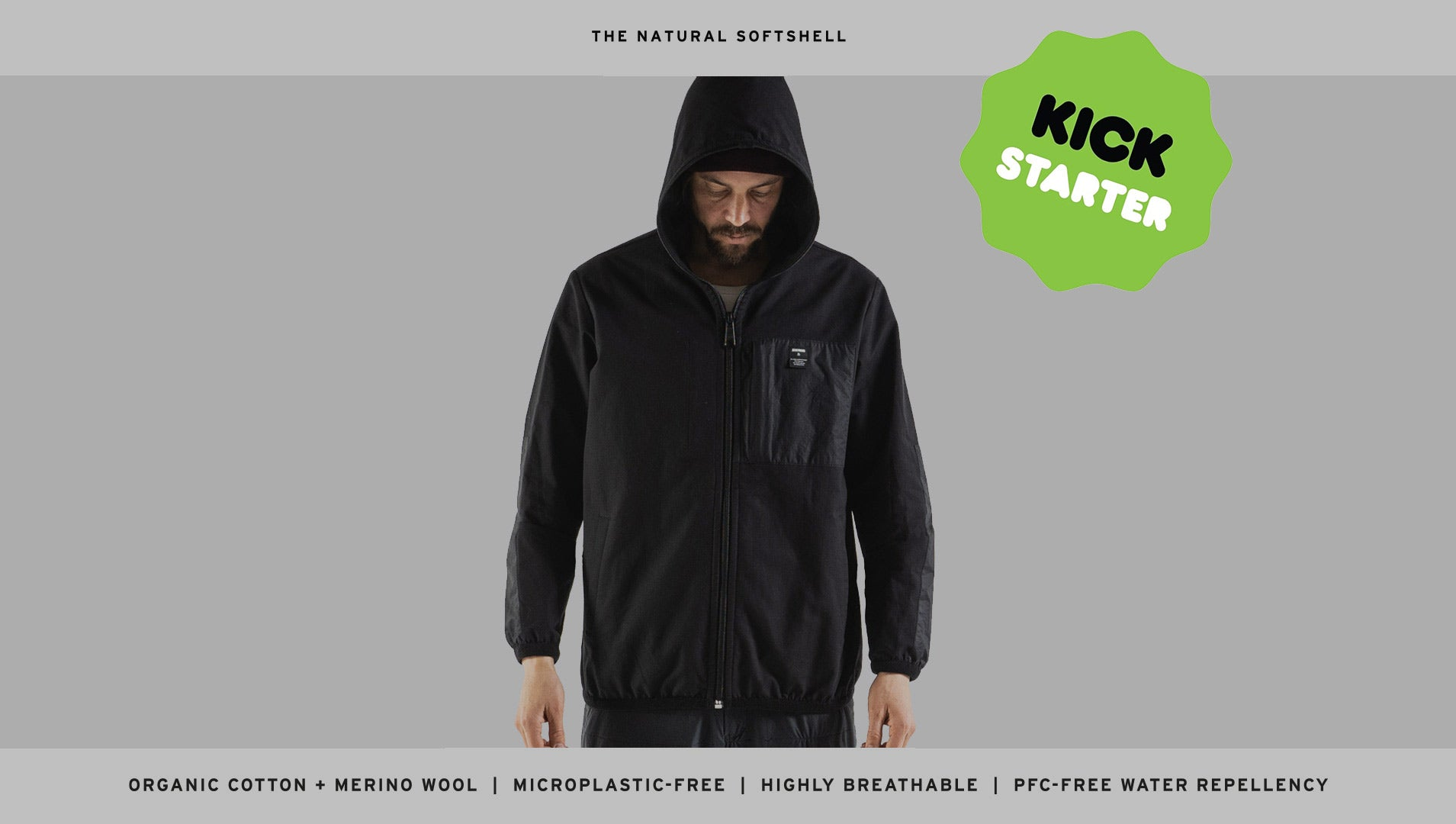 The NATURAL SOFTSHELL - Performance without plastic