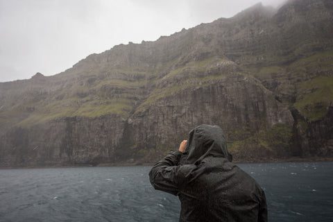 The JACKET tested in the Faroe Islands and Iceland