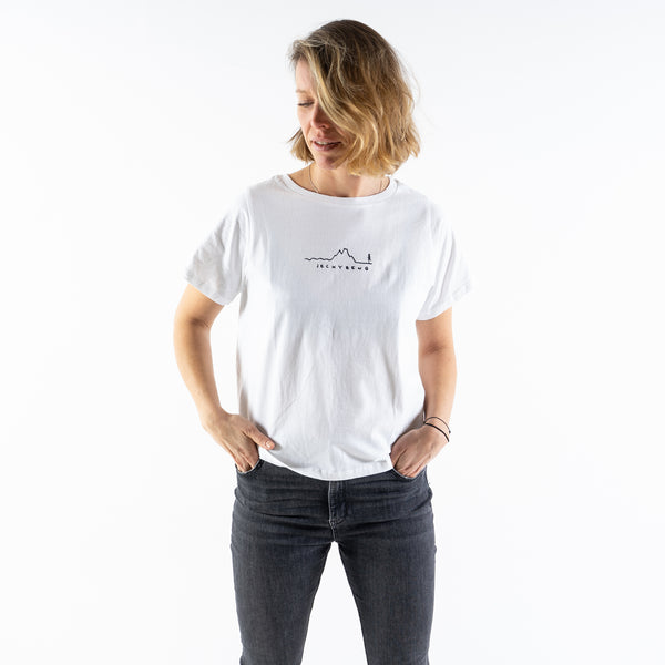 The NATURE LINE TEE Ladies