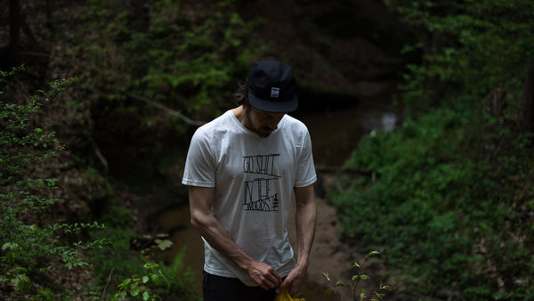 "The PIMA ""GO SHIT IN THE WOODS"" Tee"