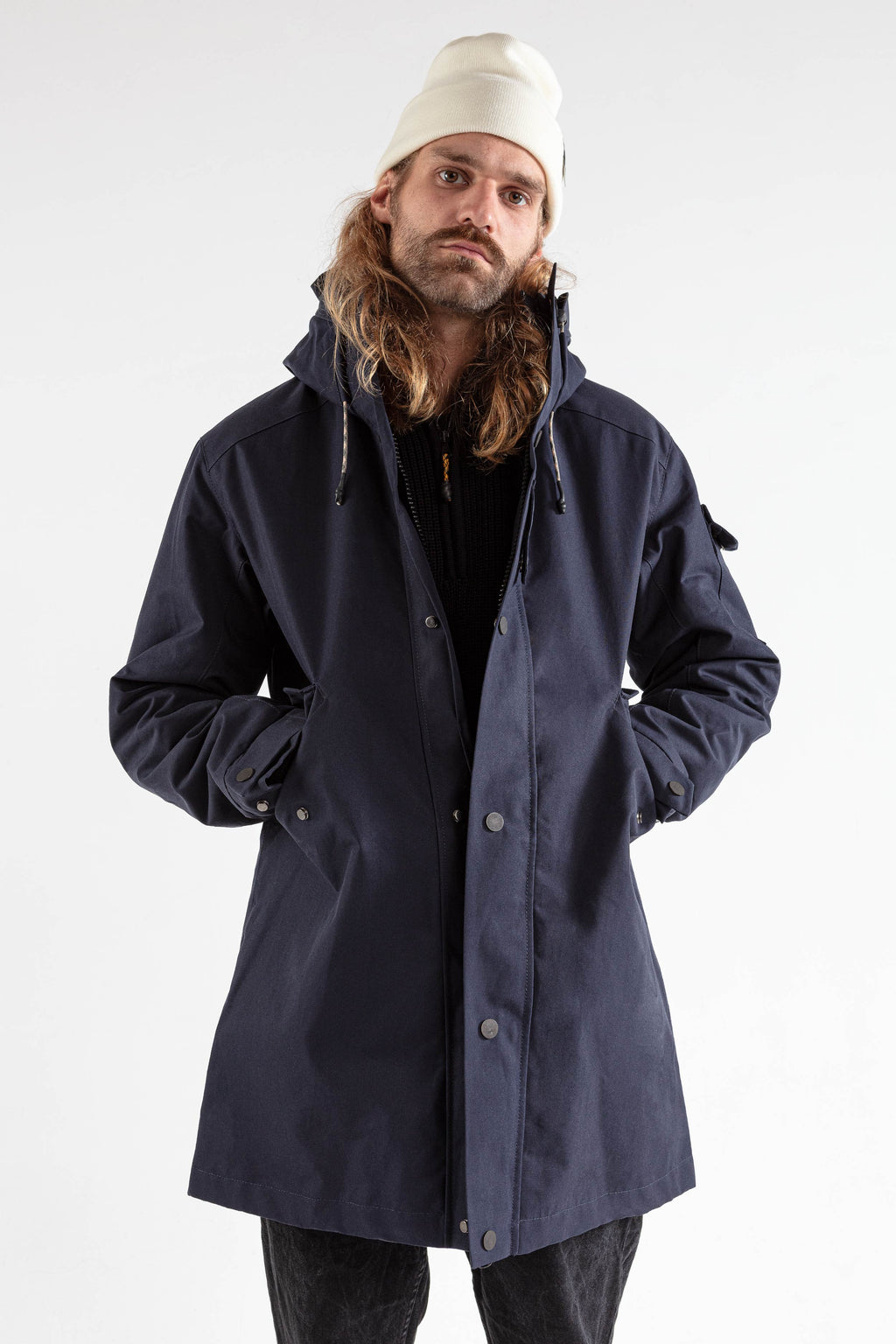 The JACKET dark navy