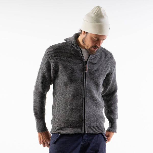 The SEAMAN SWEATER FULL ZIP