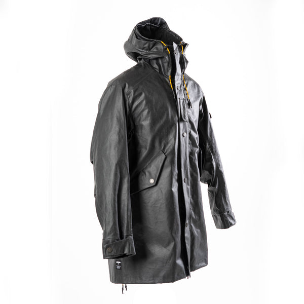 The JACKET waxed black | limited edition