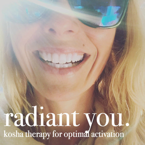 RADIANT LIVING// Kosha Therapy with Kelly Sunrose