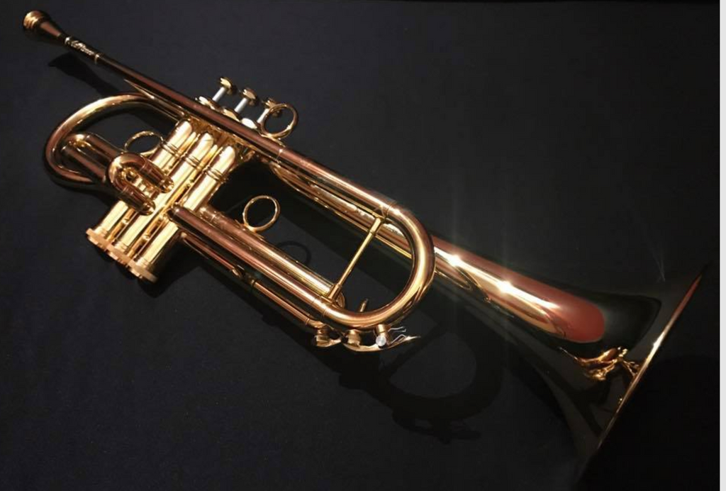 Andalucia Advanced Phase III Bb Soprano Bugle - Gold Plate