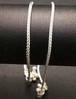 Silver Chain Anklets