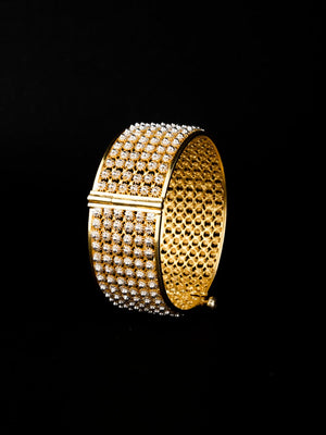 Load image into Gallery viewer, Bangles with Gold polish