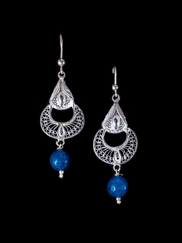 Load image into Gallery viewer, Blue Earrings online