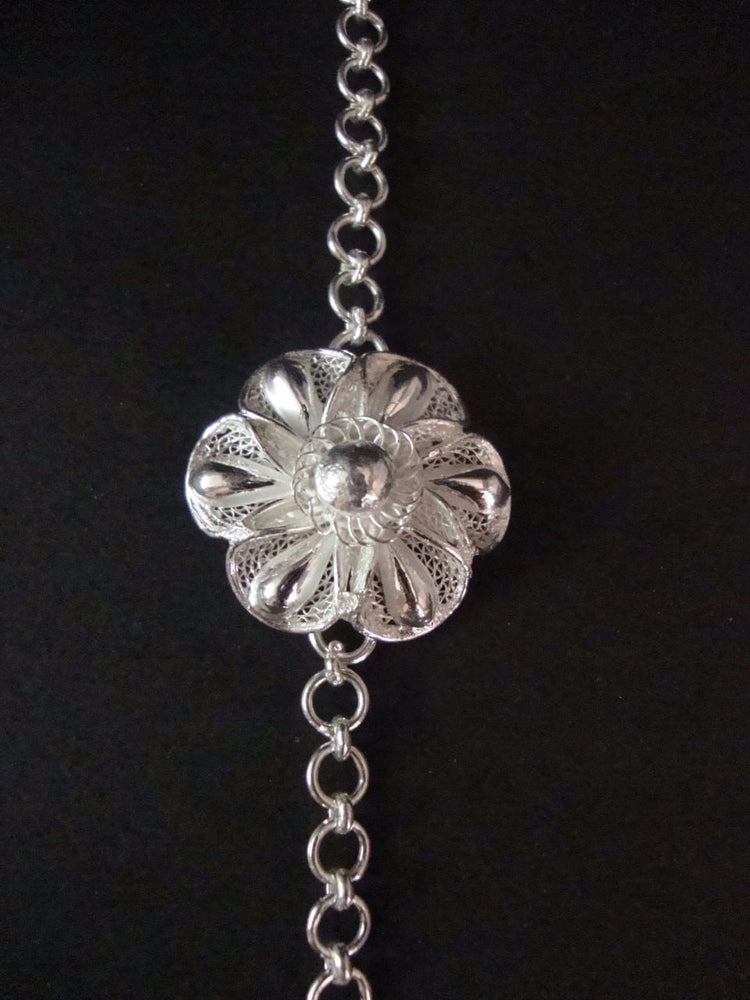 Silver Rakhi - The floral YOU