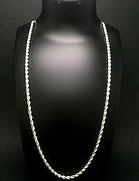 Rope Silver Chain
