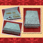 Silver Filigree Jewellery Box