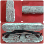 Silver Filigree Spectacle Case