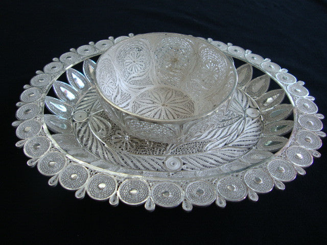 Silver set of two Bowls