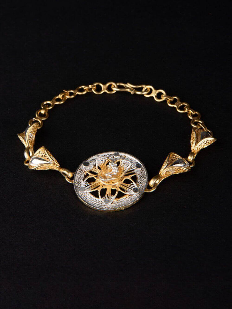 Golden Watch Bracelet