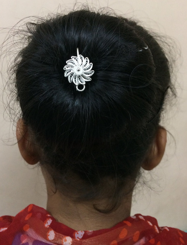 Load image into Gallery viewer, Silver Hair pins