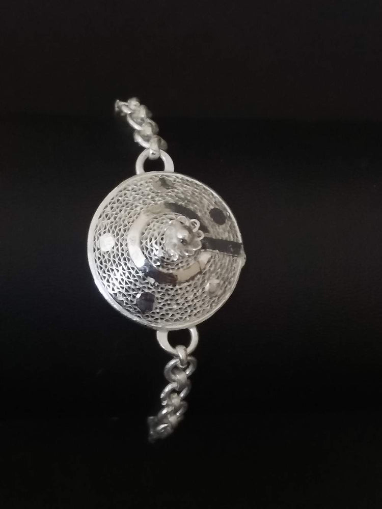 Silver Rakhi Protection